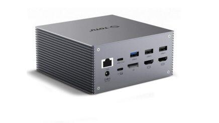 Totu USB-C 4K triple display docking station review