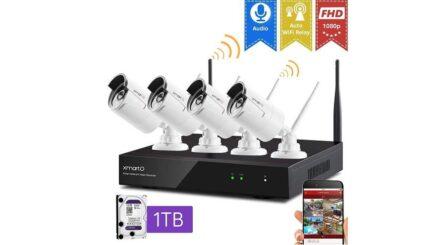 XMARTO wireless security camera system review