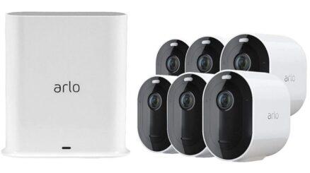 Arlo Pro 3 6 camera System
