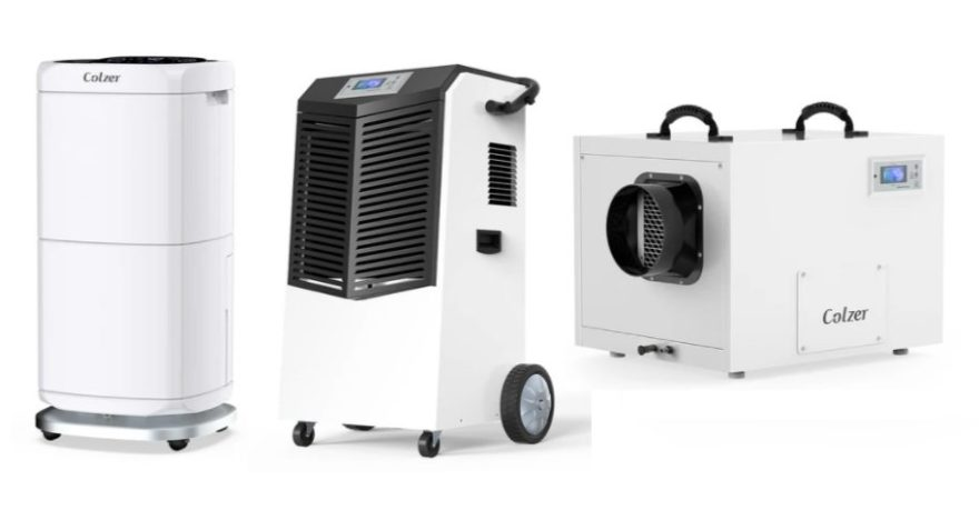 COLZER crawlspace commercial dehumidifier review