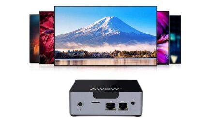 AWOW mini desktop computer Intel Celeron N3450 review