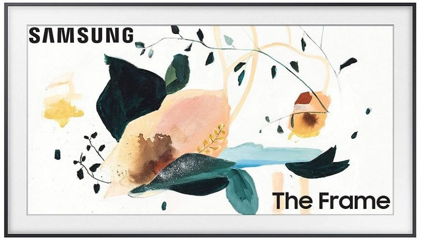 Samsung 65-inch Class the Frame TV with customizable black bezel price